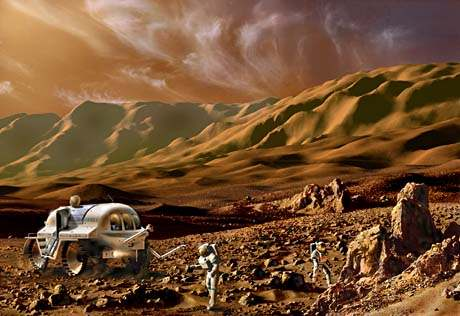 future manned exploration of Mars