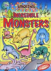 Incredible Monsters cover